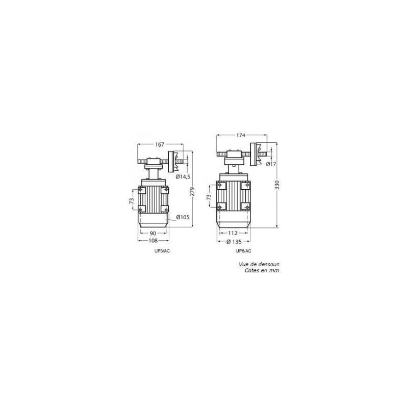 Pompe à engrenage Inox 230V -  0.12Kw