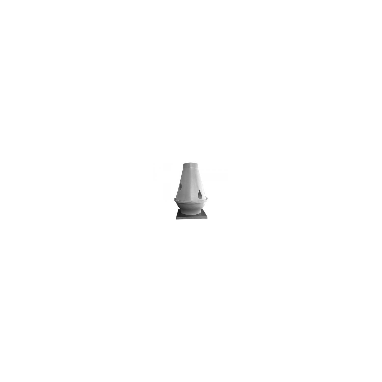 Tourelle toiture centrifuge à jet vertical en polypropylène Ø25M4