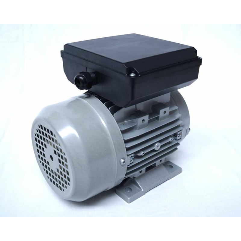 Moteur electrique 220v monophasé 0.55kW, 1500 tr/min, B3