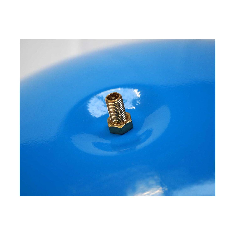 """KIT Reservoir horizontal 50 litres-raccord 5 voie 1""""-clapet pied de crépine- manomètre-préssostat"""